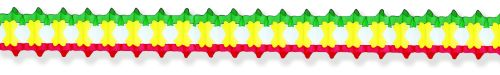Red/Yellow/Green Arch Garland - Product #5300-0