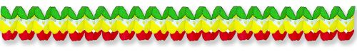 Red/Yellow/Green Cross Garland - Product #5301-0