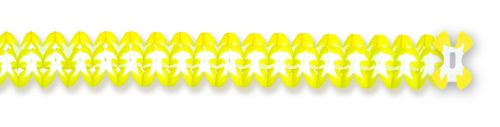 Yellow/White Cross Garland - Product #5321-6