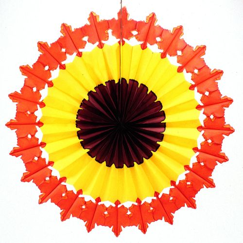 Fall Leaves Fan - Product #5349-8