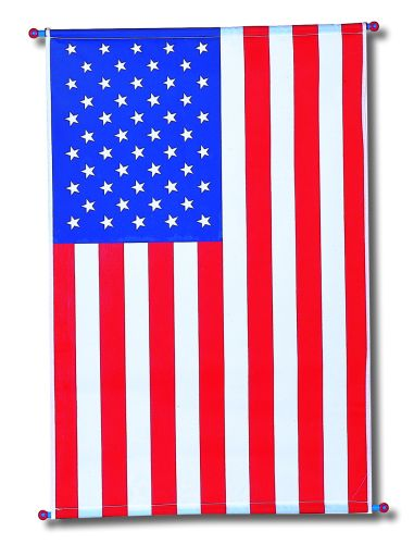 Plastic American Hanging Flag - Product #5360-6