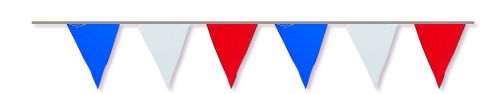 Red/White/Blue Flag Pennant Banner - Product #5368-0