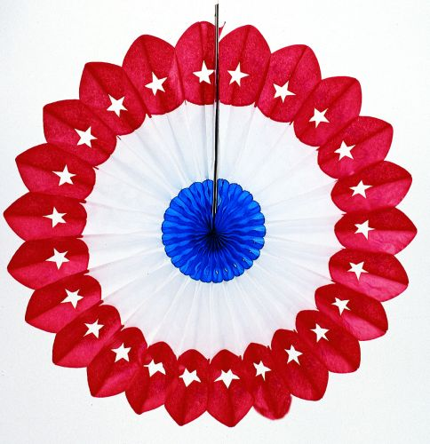 Patriotic Star Fan - Product #5387-2