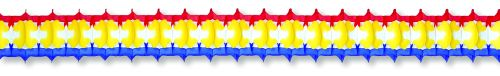 Red/Yellow/Blue Arch Garland - Product #5387-5