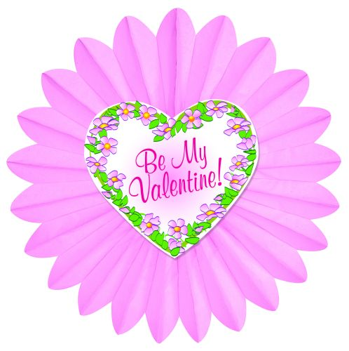 Valentine Wreath Fan - Product #5390-0