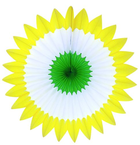 Yellow/White /Green Spring Fan - Product #5391-5