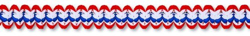 Red/White/Blue Cross Garland - Product #5393-6
