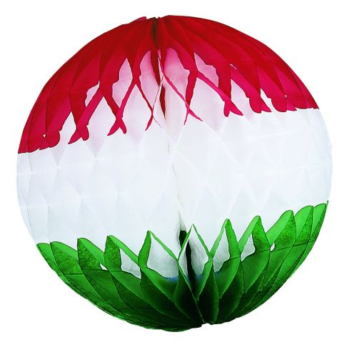Red/White/Green Ball - Product #5396-4