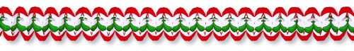 Red/White/Green Cross Garland - Product #5396-6
