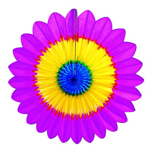 Rainbow Fan Burst - Product #5398-5