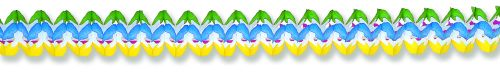 Rainbow Cross Garland - Product #5398-6