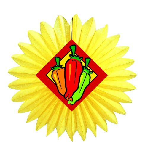 Chili Pepper Fan - Product #5404-0