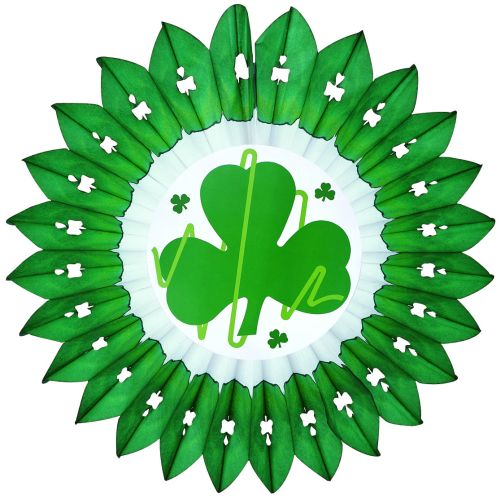 Shamrock Fan w/ Shamrock Diecut - Product #5410-4