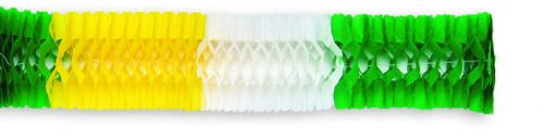 Yellow/White /Green Deluxe Garland - Product #5420-6