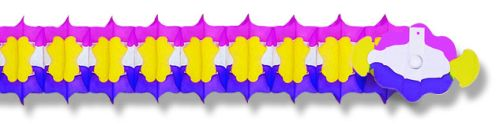 Purple/Yellow/Cerise Arch Garland - Product #5421-4