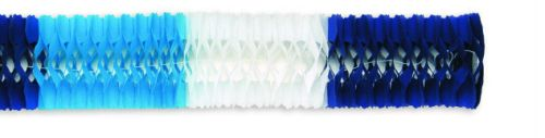 Light Blue/White/Dark Blue Deluxe Garland - Product #5426-6