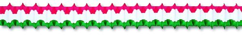 Red/White/Green Arch Garland - Product #5429-1