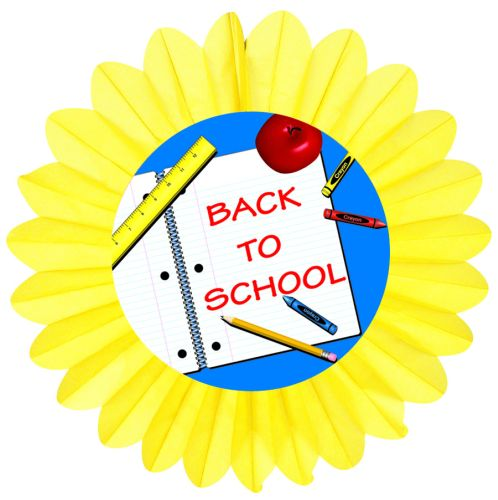 Back to School Fan - Product #5438-9