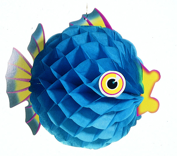 Blue Bubble Fish - Product #5453-2