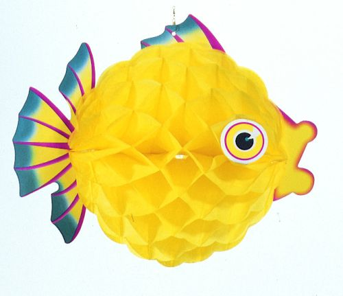 Yellow Bubble Fish - Product #5453-2