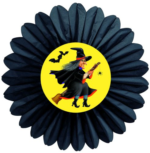 Halloween Witch Fan - Product #5460-9