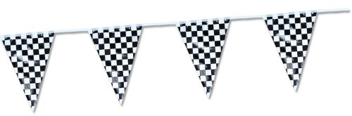 Black & White Pennant Banner - Product #5461-9