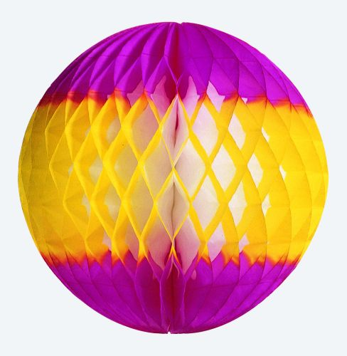 Yellow/Cerise Ball - Product #5462-3
