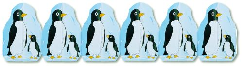 Penguin printed Garland - Product #5487-8