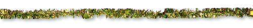 Green/Gold Tinsel Garland - Product #5519-0