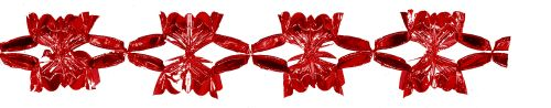 Red Metallic Garland - Product #5521-0