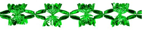 Green Metallic Garland - Product #5522-0