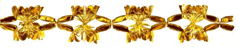 Gold Metallic Garland - Product #5524-0