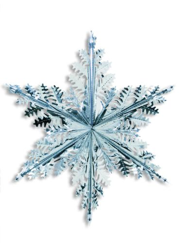 Silver Star Snowflake - Product #5600-0